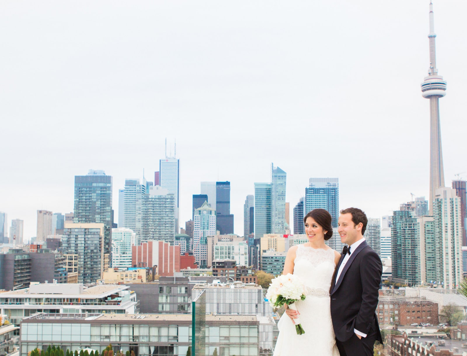 Toronto Thompson Hotel & Beth Emeth Wedding: Jamie & Michael