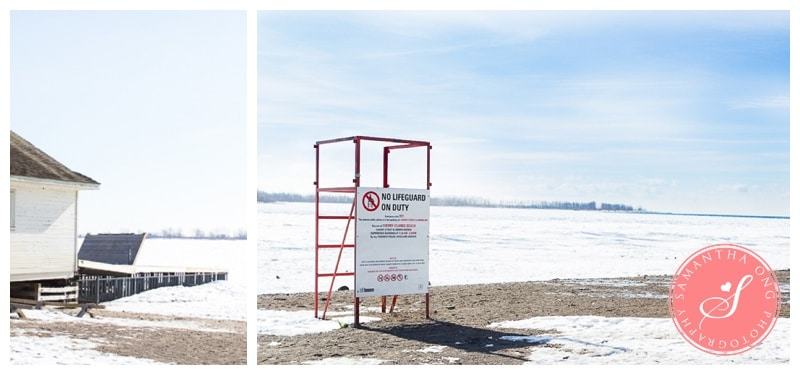 Toronto Cherry Beach Winter Frozen Lake Ontario