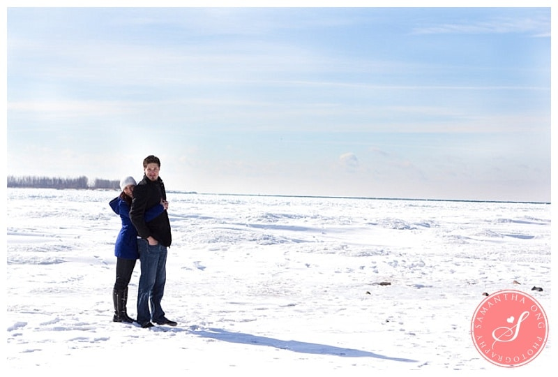 Toronto Winter Engagement Photos - Ashley & Colin