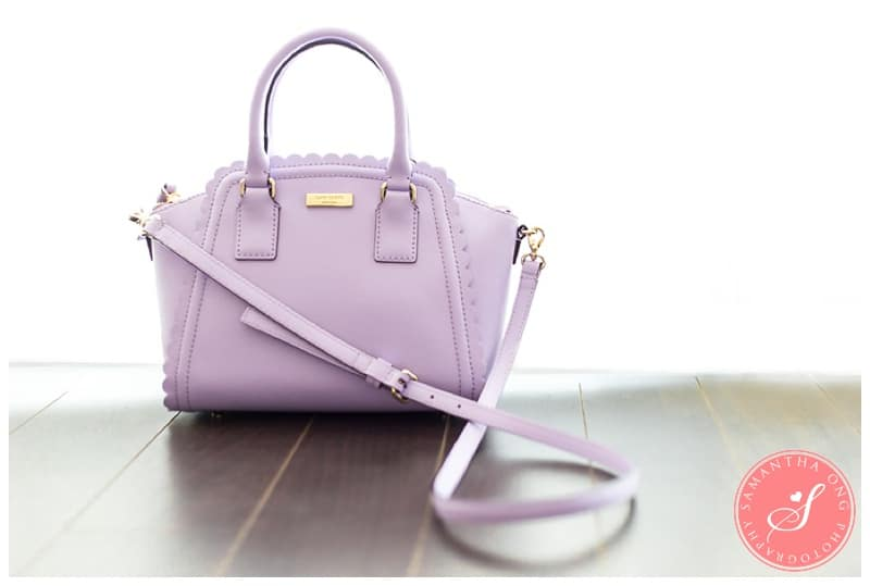 Kate Spade Small Marguerite Lilac Road Bag