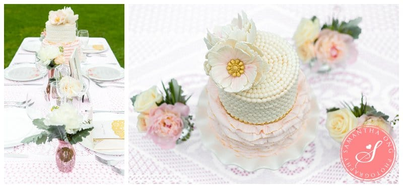 Pink & Gold Romantic Wedding Photos - Samantha Ong Photography