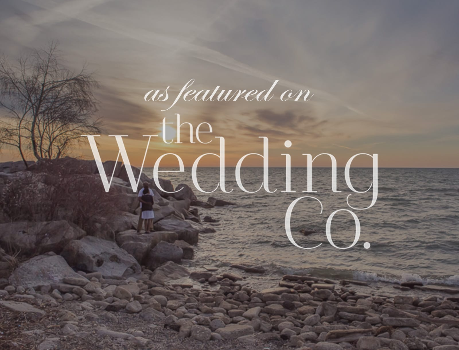 Featured on The Wedding Co: Scarborough Bluffs Engagement Session