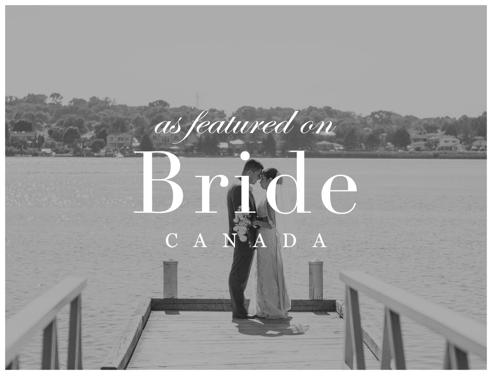 Featured on Bride Canada: Pickering Lake House Wedding Photos with Leyna & Craig