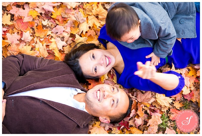 Toronto Edwards Gardens Maternity Photos: Trinh & Anthony