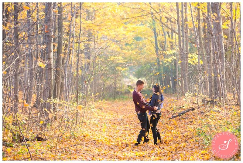 fall-durham-forest-engagement-photos-autumn-megan-matt-02