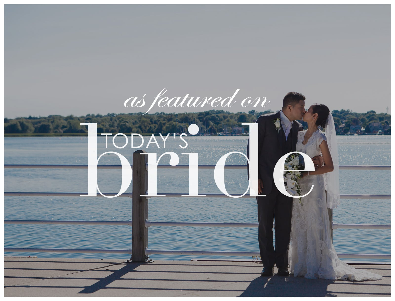 Featured on Today's Bride Canada: The Lakehouse Wedding of Leyna & Craig