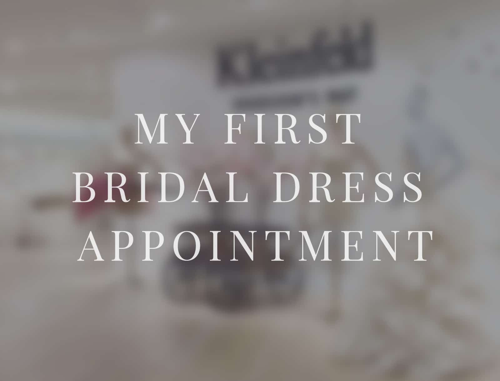 Being a Kleinfeld Bride: My First Dress Appointment