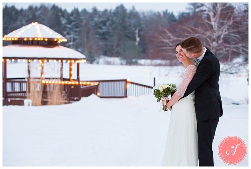 The Manor Kettleby Winter Wedding Photos King Ontario