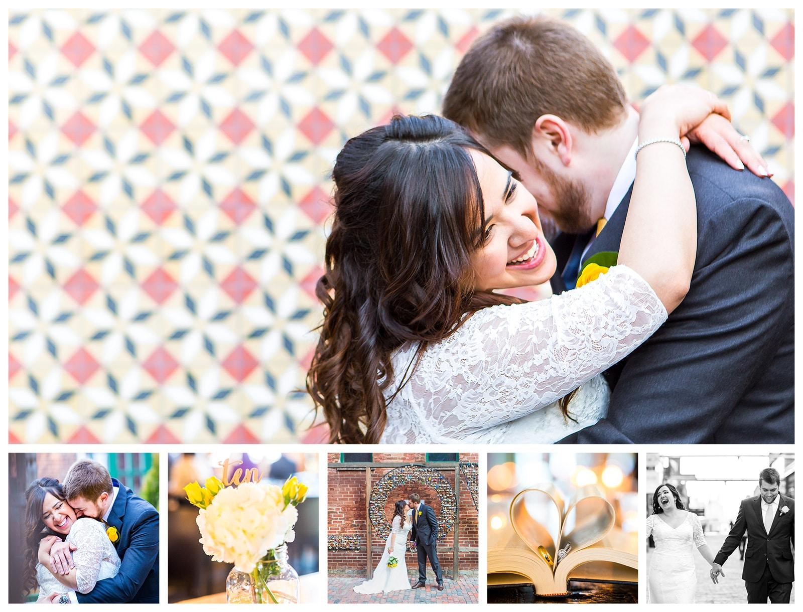 Distillery District Arta Gallery + Archeo Wedding Photos: Farah & Sean