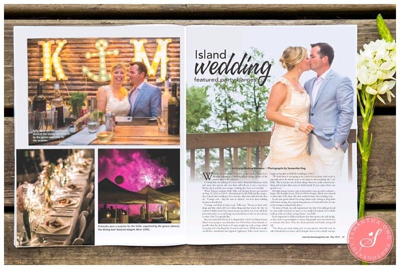 Muskoka Magazine Cottage Wedding Photos