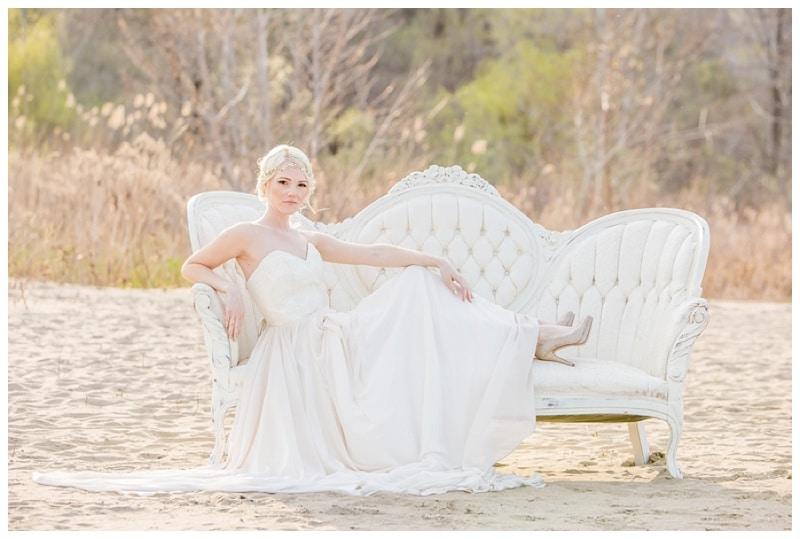 Scarborough Bluffs Beach Romantic Wedding Photos 27