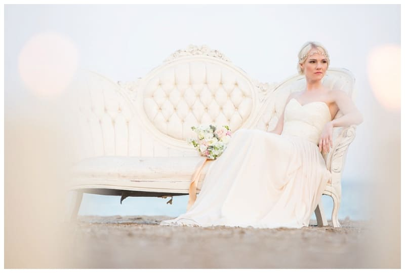 Scarborough Bluffs Beach Romantic Styled Shoot
