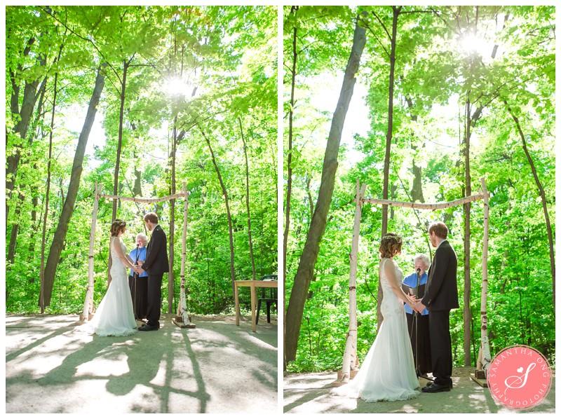 Woodbridge Kortright Centre Wedding Photos Spring Nature
