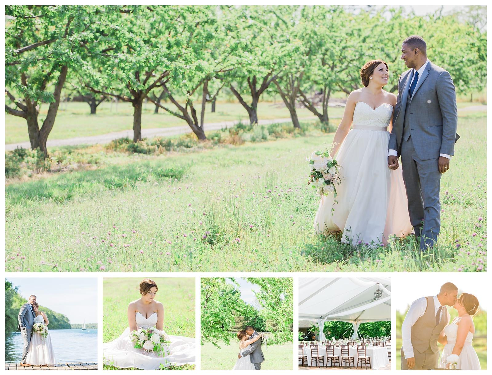 Kurtz Orchards Wedding Photos