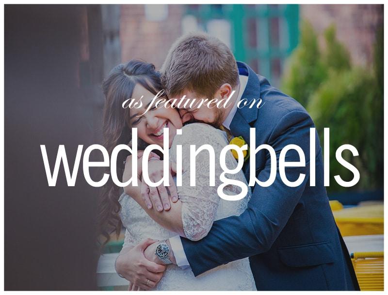 Featured in Weddingbells: Distillery District Spring Wedding