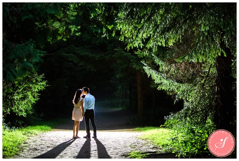 Pickering-Summer-Engagement-Photos-Dark-Forest-12