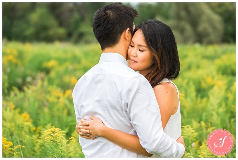 Summer Engagement Photos in the Fields: Sunny & Chris