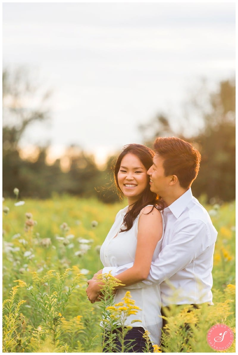 Pickering-Summer-Engagement-Photos-Fields-Flowers-Sunset-03