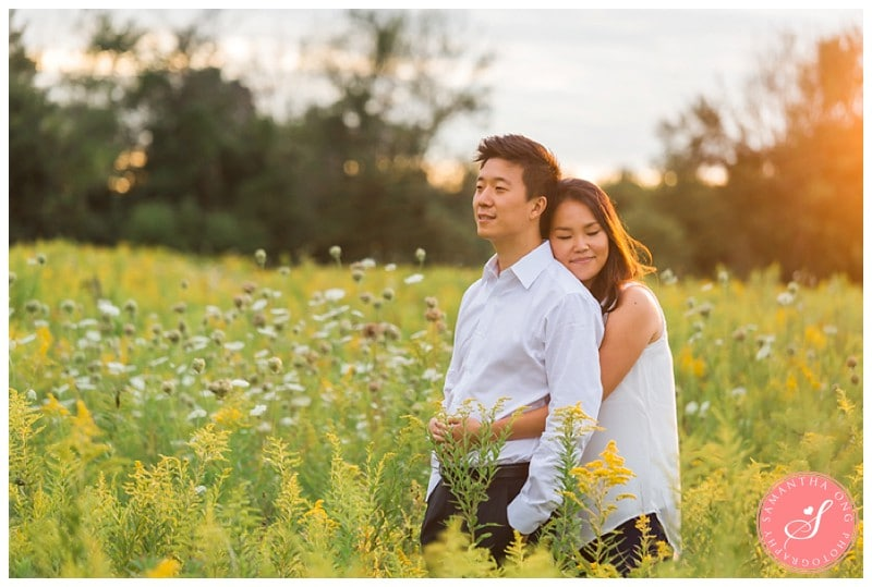 Pickering-Summer-Engagement-Photos-Fields-Flowers-Sunset-06