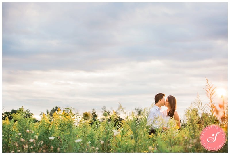 Pickering-Summer-Engagement-Photos-Fields-Flowers-Sunset-09