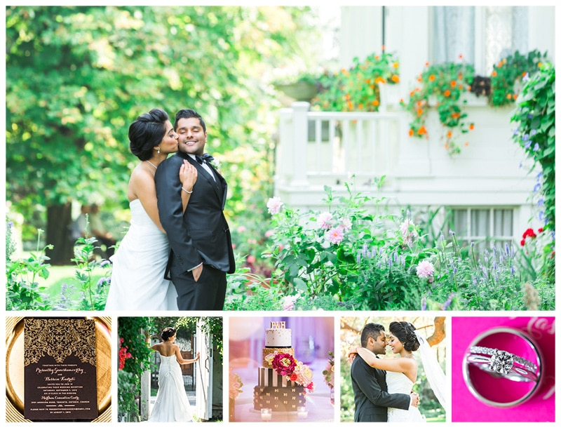 Toronto Spadina Museum & Markham Convention Centre Wedding Photos: Prasanthy + Hussein