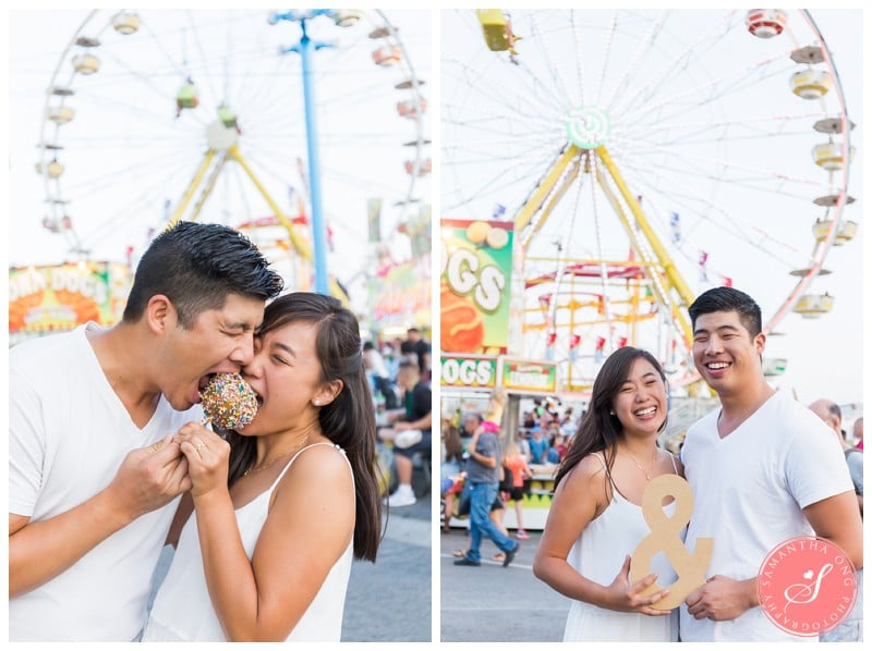 Toronto Cne Summer Engagement Photos