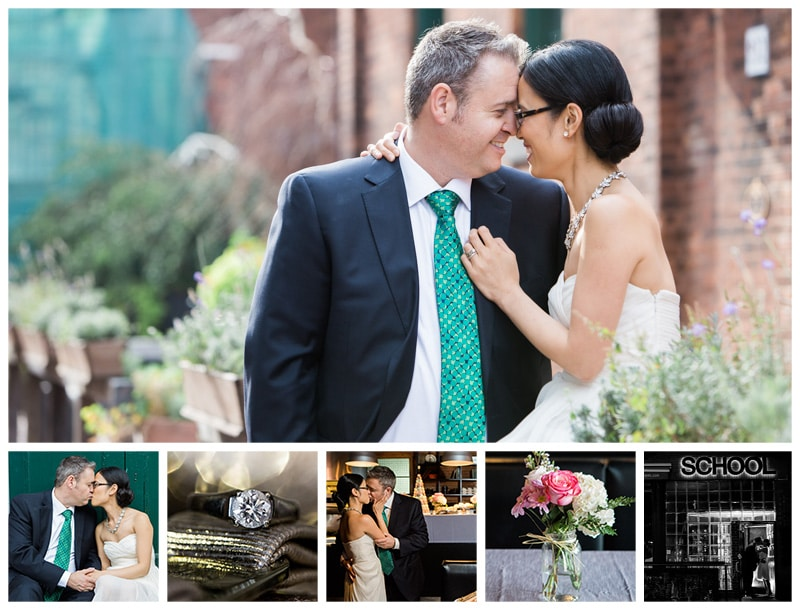 Toronto City Hall & School Wedding Photos: Elina + Michael