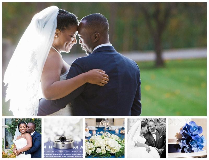 Toronto Estates of Sunnybrook Vaughan House Fall Wedding Photos: Kamilah + Maxwell