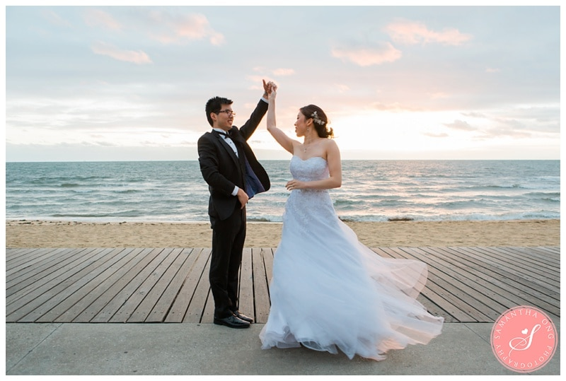 Melbourne-St-Kilda-Beach-Sunset-Encore-Wedding-Photos-08