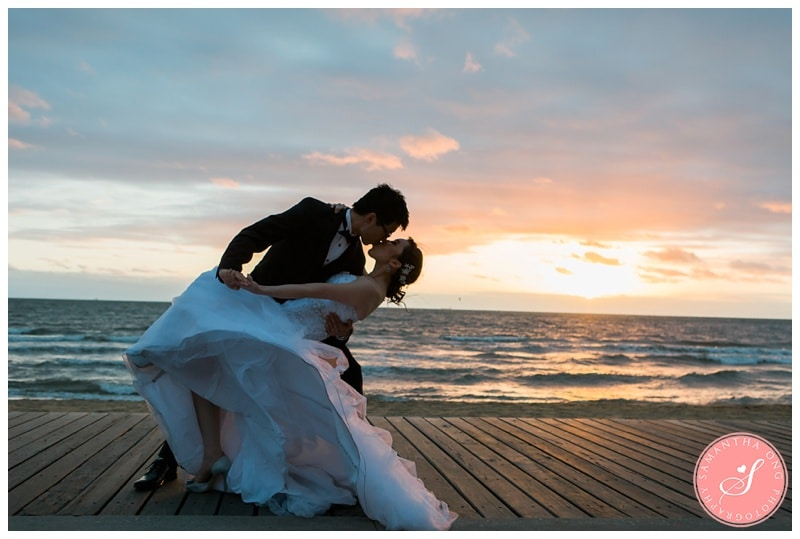 Melbourne-St-Kilda-Beach-Sunset-Encore-Wedding-Photos-14