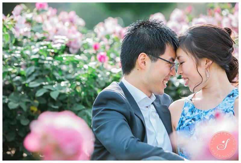 Romantic Mornington Pensinsula Engagement Photos: Yinju + Run