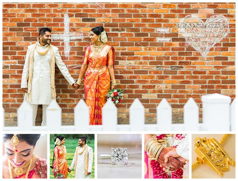 Toronto Hindu Wedding Portrait Photos: Prasanthy & Hussein