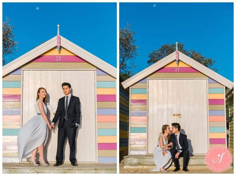Melbourne Brighton Beach Prewedding Engagement Photos 01