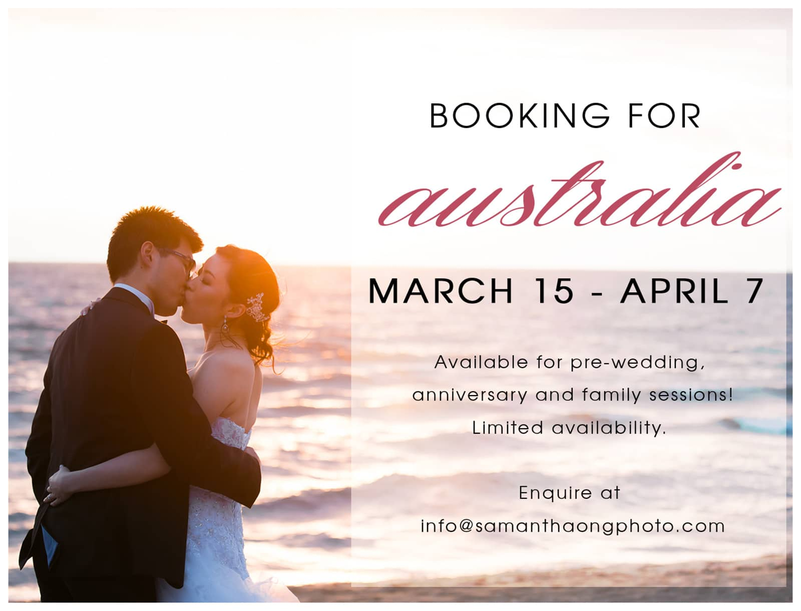 Top Melbourne Wedding Photographer