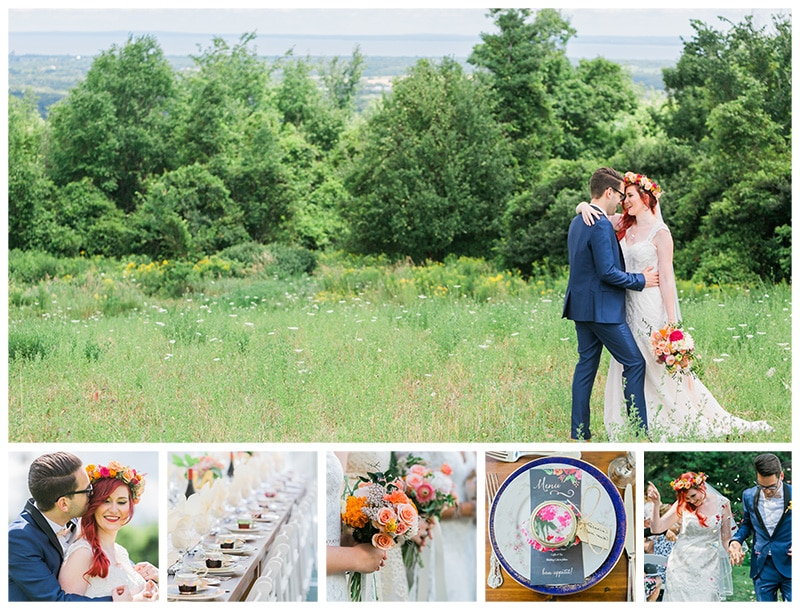 Toronto Bohemian Wedding Photographer