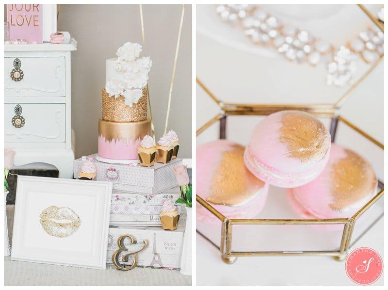 Pink-Gold-Wedding-Dessert-Cake-Table-Macaron-Cupcake-Toronto-10
