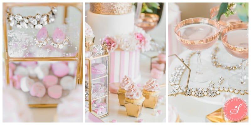 Pink-Gold-Wedding-Dessert-Cake-Table-Macaron-Cupcake-Toronto-14