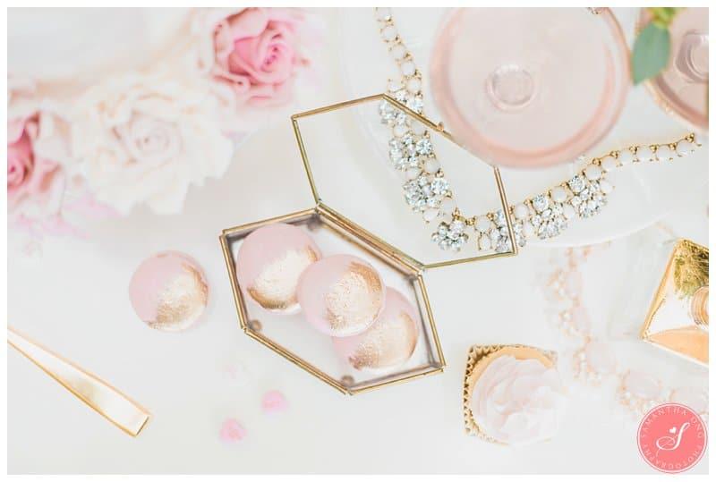 Pink-Gold-Wedding-Dessert-Cake-Table-Macaron-Cupcake-Toronto-16