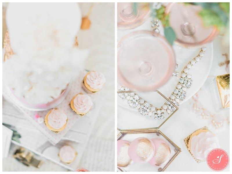 Pink-Gold-Wedding-Dessert-Cake-Table-Macaron-Cupcake-Toronto-17