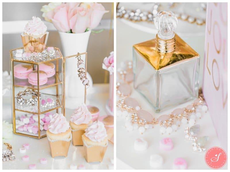 Pink-Gold-Wedding-Dessert-Cake-Table-Macaron-Cupcake-Toronto-8