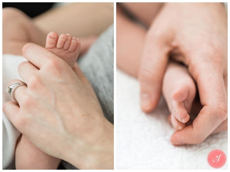 Natural Newborn Baby Photographer Toronto