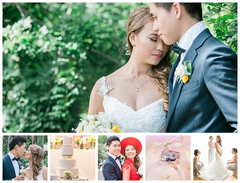 Vietnamese Footscray Park & Melbourne Pavilion Wedding: Trang + Tung