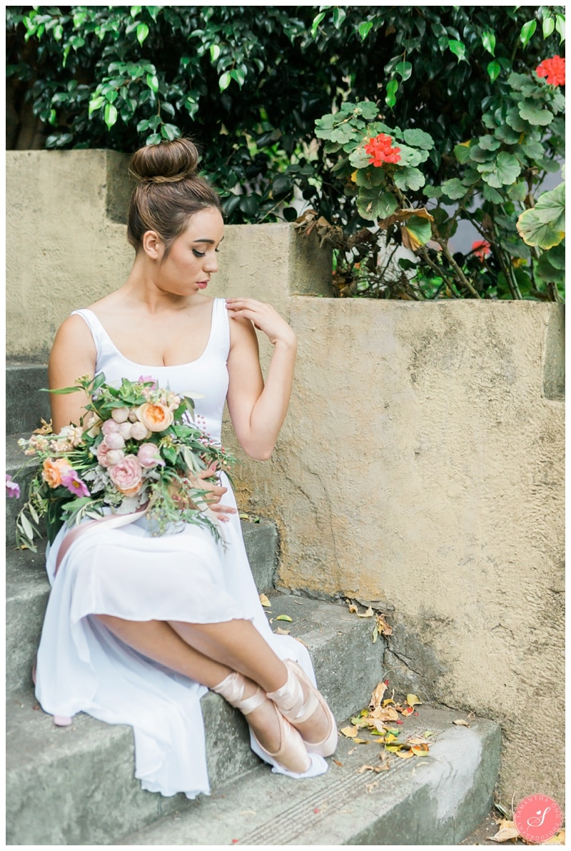 Romantic Melbourne Wedding Photos Ethereal French Ballet