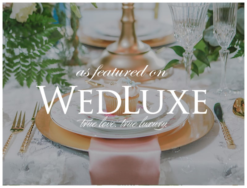 Featured on Wedluxe: Once Upon a Time Fairytale Styled Shoot