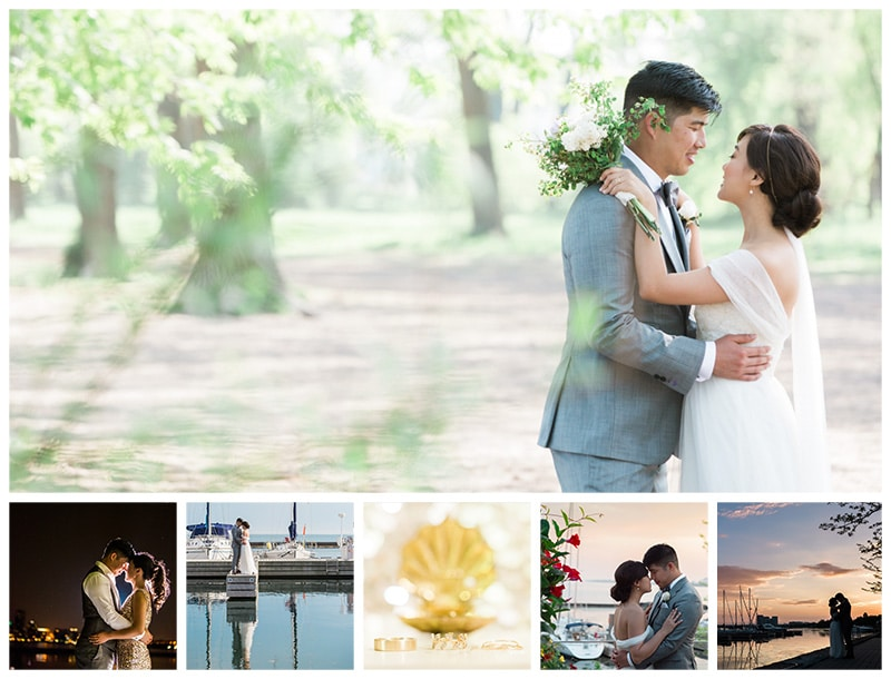 A Sweet Waterfront Boulevard Club Wedding: Janet + Livingstone