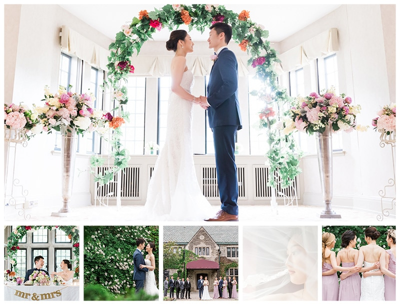 A Beautiful Summer Estates of Sunnybrook Wedding: Liz + Jin