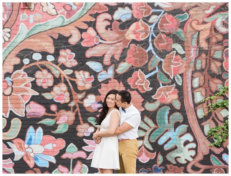A Fun & Colourful Downtown Toronto Engagement: Sarah + Hugh