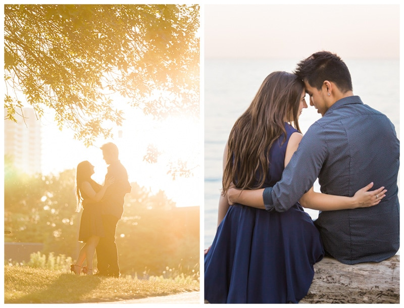 A Toronto Humber Bay Park Engagement Session: Laura + Michael