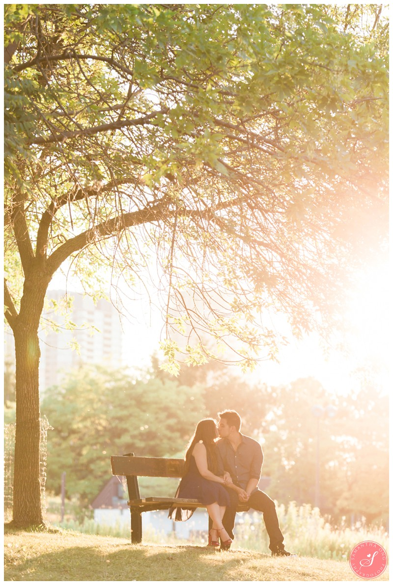 Toronto Romantic Engagement Photography Humber Bay Park