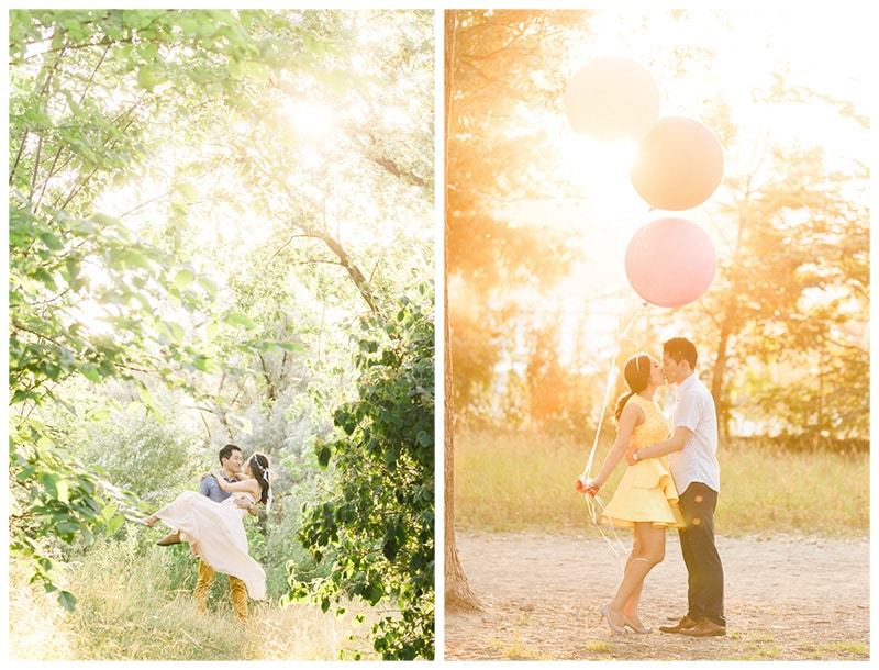 A Whimsical Engagement in Toronto: Margaret + Jong